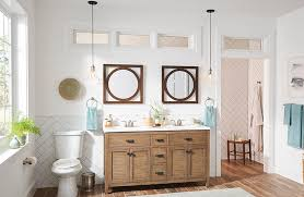 pendants offer a more creative option to traditional vanity fixtures
