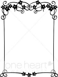 Border Black And White Black And White Trellis Border Wedding Flower Borders