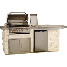 bull outdoor s octi q island with 4 burner angus gas grill single horizontal access door