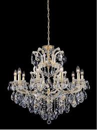 Подвесная люстра <b>Crystal Lux Isabel</b> SP11 Gold/Transparent