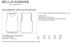 Bella Canvas Muscle Tank Size Chart T T Logo On Blush Muscle Tank Products Muscle Tees
