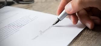 Resultado de imagen para contrato de trabajo