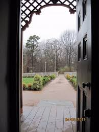 Image Dog Bartrams Garden Newly Restored Formal Garden Looking Out The Front Door Of The Bartram Family Alamy Newly Restored Formal Garden Looking Out The Front Door Of The