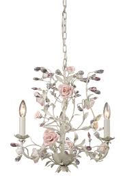 shabby chic white crystal chandelier chandelier designs
