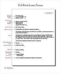 Full Block Style Business Letter Template Filename Purdue Sopms