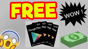 google play gift card generator how to get free google play codes 2018