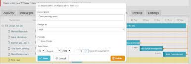 Wordpress Gantt Chart Plugin Wp Project Manager Gantt Chart For Better Project Management