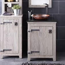 rustic gray bathroom vanities. Rustic 24 Bathroom Vanity Gray Vanities
