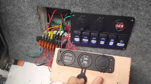 switch panels part 1 wiring layout jon boat to bass boat boat wiring tips at Boat Fuse Block Wiring Diagram