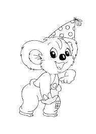 Blinky Bill Cartoons Coloring Pages For