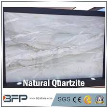 natural white quartzite slab for door frame and vanity countertop pictures photos
