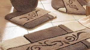 orange bath rug set attractive contour sets remarkable 5 piece bathroom and in 3