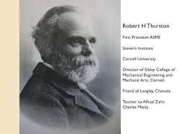 a brief history school of mechanical aerospace engineering  robert thurson