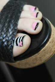Cute Pedicure Designs Really Cute Pedicure Design Nail Art Design From Coolnailsart