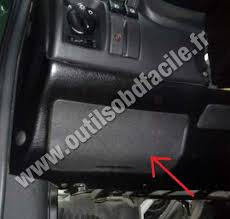 obd connector location in opel astra f outils obd opel astra fuses box