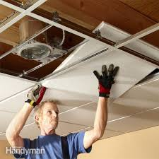 installing recessed lighting in drop ceiling panels designs