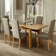 next dining furniture. Bromley 160-230cm Dining Set With 6 Kensington Fabric Chairs Next Furniture H