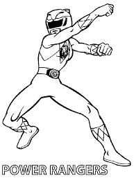 coloring pages free power ranger coloring pages printable color red mask page rangers dino charge