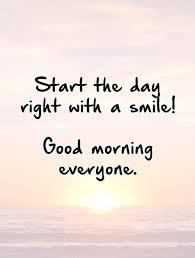 Startthedayrightwithasmilegoodmorningeveryonequote40 YogaHub Cool Morning Quote
