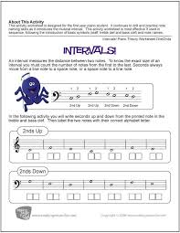 Piano Worksheets | Homeschooldressage.com