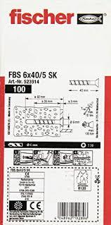 Test & Avis : Fischer vis à béton 6 x 40/fBS 5 sK - 523914