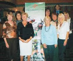 Air ambulance volunteers enjoy informative social evening   News   Tenby  Observer