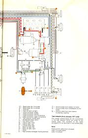 thesamba com type 2 wiring diagrams 71 Beetle Wiring Diagram at 1973 Vw Bug Instrument Panel Wiring Diagram
