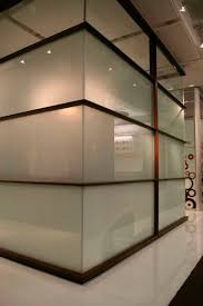 diy office partitions. glass panel for partition walls with sliding door satin etch goldray industries diy office partitions