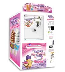Ice Cream Vending Machine Rental Magnificent HappyIce Healthier Life
