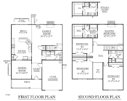 Delightful Two Story Apartment Plans Two Story House Plans With Master On Main Floor  Inspirational House Plan