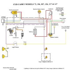 wiring diagrams nf only cub cadets Cub Cadet 982 Kohler Wiring Diagram 1x4 5 series 1x6 7 series Cub Cadet Ignition Switch Wiring Diagram GT2186-44
