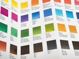 Winsor And Newton Cotman Color Chart Winsor Newton Cotman Color Chart Artistcheatsheet