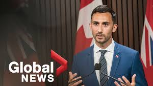 Stephen francis lecce (born november 26, 1986) is a canadian politician. Coronavirus Ontario Education Minister Stephen Lecce Makes Announcement Full The Global Herald