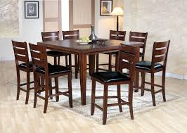 Square Kitchen Table For 4 Square Dining Table Set Luxhotelsinfo