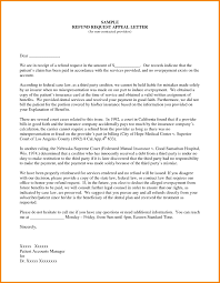 Sample Insurance Appeal Letter For No Authorization Letter And