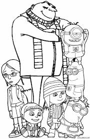 Small Picture Beautiful Despicable Me Coloring Pages 44 In Free Colouring Pages