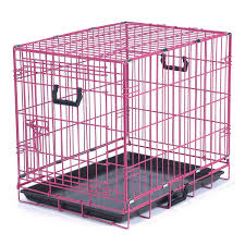 be good appeal color pink dog crate  petco