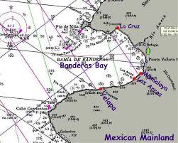 Mexico Navigation Charts Puerto Vallarta
