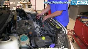 how to install replace alternator volvo v s s