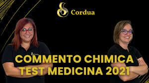 Cordua - ⚠ TEST MEDICINA 2021 - COMMENTO MATERIA PER...