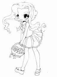 Kawaii is a japanese adjective meaning mainly cute. Free Anime Kawaii Girl Coloring Pages Gianfreda Net Coloring Home