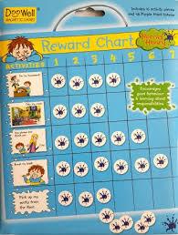Doowell Activity Charts Horrid Henry Reward Chart Educatorsden Supporting Younger
