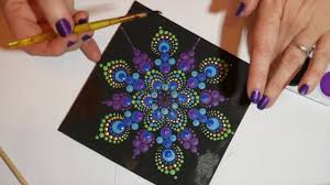 how to paint dot mandalas with kristin uhrig 6 pea design you