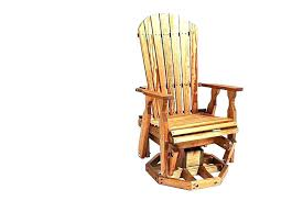 outdoor glider rocker. Outdoor Glider Rocker Swivel Chair Gliders Chairs Wood Fan Back Wooden Cushions T