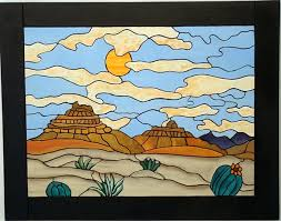 southwestern abstract scene this piece is made to hang on the wall and comes ready to hang this intarsia wood art piece is made up of 152 pieces of on southwestern wood wall art with southwestern wood wall art hand painted wall hanging intarsia