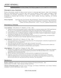 Legal Assistant Resume Sampl Superb Legal Secretary Resume Sample