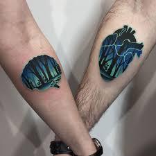 Forest Background Tattoo Ideas