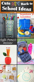 30 creative and cute diy back to school ideas diy school cute