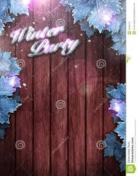 winter party invitation background royalty stock images winter party invitation background