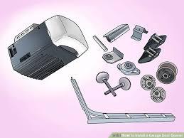image titled install a garage door opener step 5
